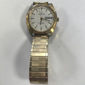 Other - Vintage Men's Helbros GF Watch Works MO415